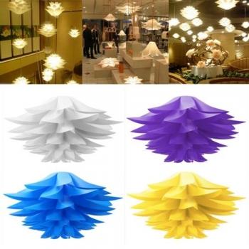 Moderne Lotus Anhänger Kronleuchter Hängende Deckenleuchte Hängeleuchte DIY  Lampshade