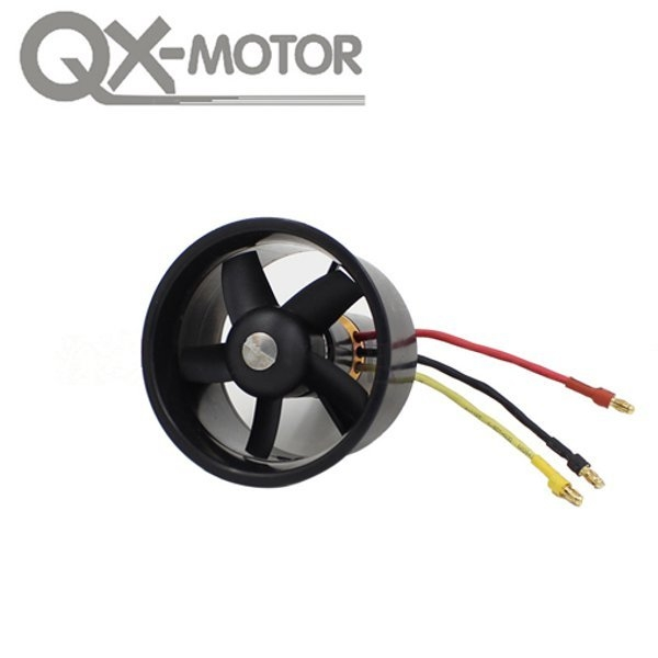 QX Motor 64mm 5 Blades Impeller Mit 4300KV 3 4S QF2822 Brushless Motor