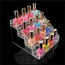 Acrylic Nail Polish Frei Stand Cosmetic Varnish Anzeige Makeup Organizer 4 Tiers