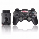 Wireless Shock Came Controller Gamepad Joypad für Sony Play Station 2 PS2 Schwarz