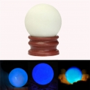 Leuchtende Perle Glow In The Dark Stone Luminous Quartz Kristallbereich Kugel Nacht Perle