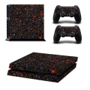 Star Game Decal Cover Skin Aufkleber für Play Station 4 PS4 Konsole + 2 Controller