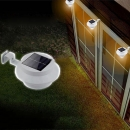 Solar Powered LED Zaun Licht im Freiengarten Wand Lobby Pathway Lamp