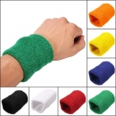 Unisex Sports Cotton Handgelenk Schweißbänder Hand Wrap Tennis Badminton Band
