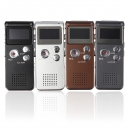 Stahl Wiederaufladbare 8GB 650HR Digital Audio Voice Recorder MP3 Player