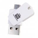 Mini -2 in 1 Micro -USB otg Adapter sd tf Kartenleser