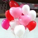 50pcs Heart-Shaped Latex Ballon-Partei-Feiertags-Dekoration Ballon