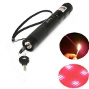 G303 regulierbarer Fokus 650nm 5mw roter Laser pointer+light Sternkappe