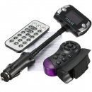 Car Kit FM Transmitter MP3 Player USB SD LCD Fernbedienung Freisprecheinrichtung