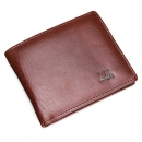 Herren Ledergeschäfts Wallet Pocket Card Clutch Bifold Schlank Purse