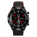 GT 54 GRAND TOURING Silikon Band Quarz Analoge Sport Uhr