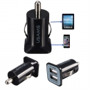 USAMS 3.1A Universal Dual 2 Port 12V USB Car Charger Adapter For iPhone Samsung