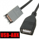 AUX USB Kabel Adapter Buchse für Honda Civic Jazz Accord Stereo