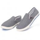 Canvas breathable Beleg auf Müßiggänger Casual Men Solide Cotton Shoes Fahren Schuhe