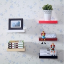 Schwimmende Wandregale Hanging Shelf Display Holz Bücherregal 80 * 15cm
